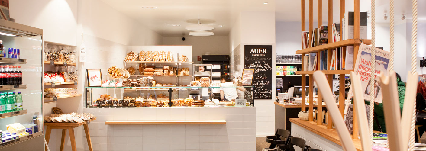 New project of lighting for Martin AUER Bakery - quality since 1688