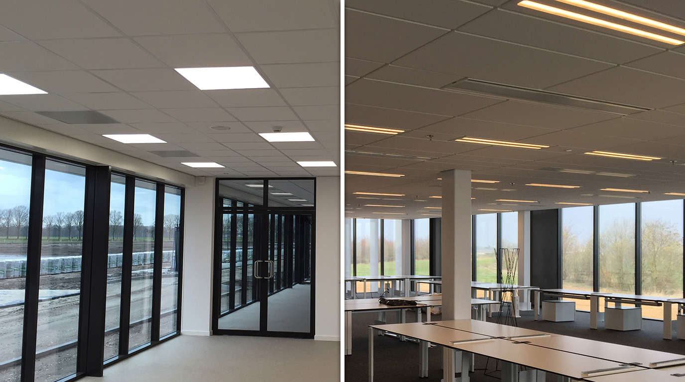 LED office lighting for the energy-conscious Netherlands market