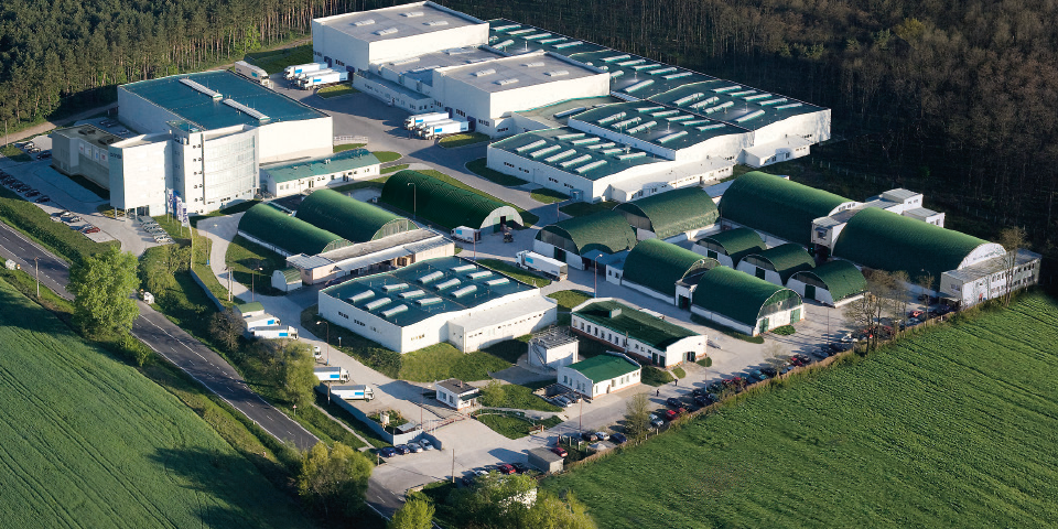 OMS headquarters and manufacturing facilities in Dojc, Slovakia