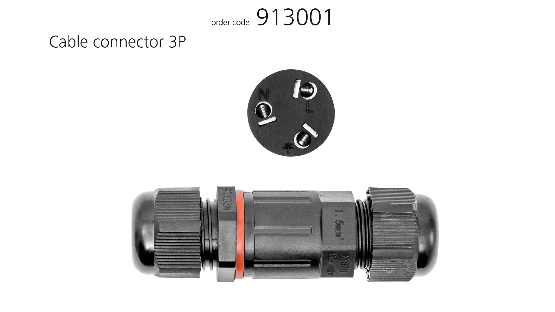 Accessories Cable connector 3P