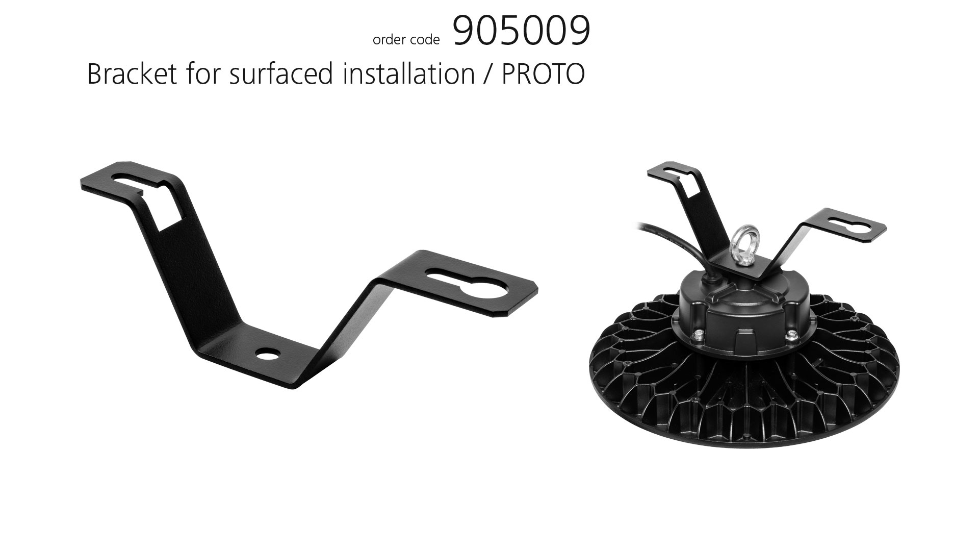 Accessories Bracket for surfaced installation
